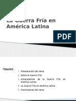 Guerra Fria y America Latina