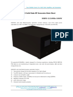 HUKINGS Solid State RF Generator Data Sheet-HSRFG-13.56MHz-1000W