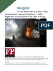 Syria's Stalingrad