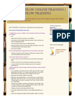 Sap Workflow Online Training