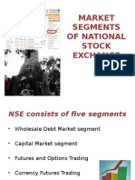 market Segments of National Stock Exchange