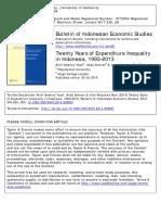 Yusuf Et Al. (2014) Twenty Years of Expenditure Inequality