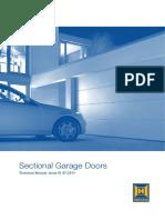 84 607-Sectional Garage Door Technical Manual
