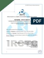 Cab Tender Document IRCTC