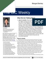 The GIC Weekly Update November 2015