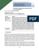 Econometric Analysis of Natural Disasters' Macro-economic Impacts