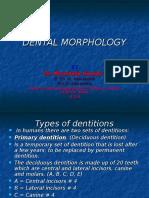 Dental Morphology 1