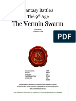The Ninth Age the Vermin Swarm 0 10 1