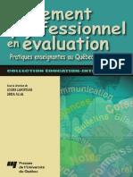 Jugement Professionnel en Évaluation
