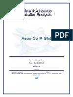 Aeon Co M Bhd Malaysia