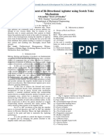 Design and Development of Bi-Directional Agitator using Scotch Yoke Mechanism