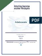 Adebowale Nigeria