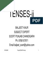punjabi TENSES-II