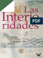 Palma, Felix J. - Las Interioridades [27463] (r1.0)
