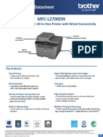 Brother MFC-L2700DN Datasheet