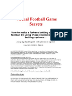 Virtual Football Game Secrets 3