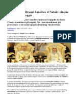 Il Sultano Del Brunei Bandisce Il Natale Cinque Anni a Chi Festeggia