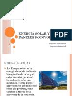 Energía Solar y Paneles Fotovoltaicos