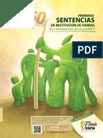Publicacion Restitucion de Tierras La Restitucion Si Es Posible 150 Primeras Sentencias Septiembre 2013 Fundacion Forjando Futuros