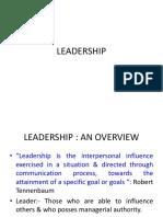 MCOB Mod 4 Leadership