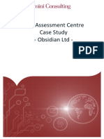 CDC Case Study- Obsidian