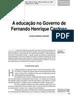 Educação Gov FHC