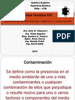 Tema XVII Contaminantes Orgánicos-2015