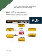 Desarrollo Trabajo de Caja de Herramientas Para Diseñar e Implementar Un Proceso de Cambio Efectivo