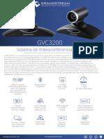 Gvc3200 Spanish Datasheet