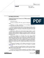The Security Council Resolution 2259 (2015) on Libya – English Version