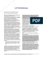 The power of Christmas & Jesus' Condescension