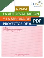 Aprendizaje Servicio - Criterios de evaluación