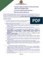 Convocatoria Proceso Admision 2014_10032014
