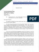 Carpinello letter