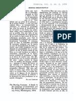 comentario revista dianoia. 1952 mex