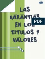 DERECHO EMPRESARIAL ( Las Garantias en Los Titulos y Valores)