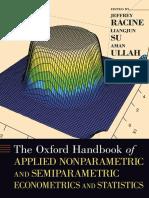 Racine, Su, Ullah - Unknown - Applied Nonparametric & Semiparametric Econometrics & Statistics.pdf