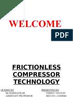 Frictionless Compressor Technology Presentation