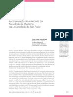 A conservação do estandarte da Faculdade de Medicina da Universidade de São Paulo