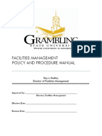 2010 Facilities Management Policies and Procedures (b4 Use)