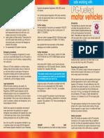 Indg387 - Safe Working With LPG-fuelled Motor Vehicles
