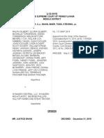 Gilbert v. Synagro Central, LLC, No. J-32-3015 (Pa. Dec. 21, 2015)