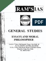 Sriram Essays _ Moral Philo