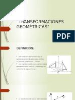 TRANSFORMACIONES-GEOMÉTRICAS