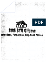 1985 BYU Passing Offense