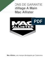 outillage a main mac alisier