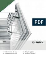 Kgn36sb31 Frigorfico Combinado de Libre Instalacin Puertas de Cristal
