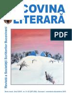 Bucovina literara nr. 11-12 / 2015