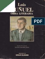 Obra Literaria Luis Bunuel 1922 1947
