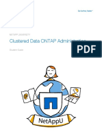 NetApp Training OnTap Clustering Student Guide Rev4